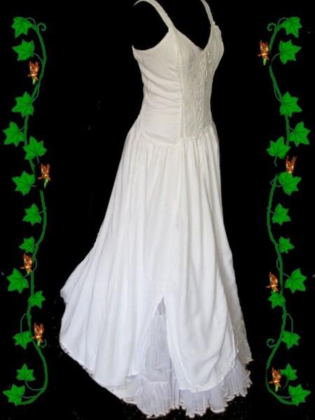 Kleid Melinda weiß – Bild 2