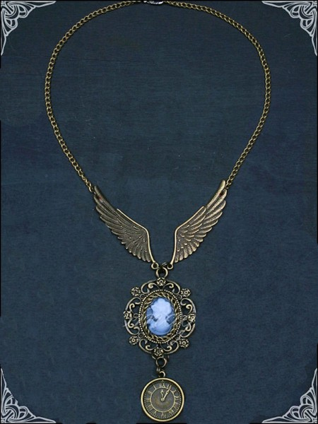 Collier Wings of Steam – Bild 1