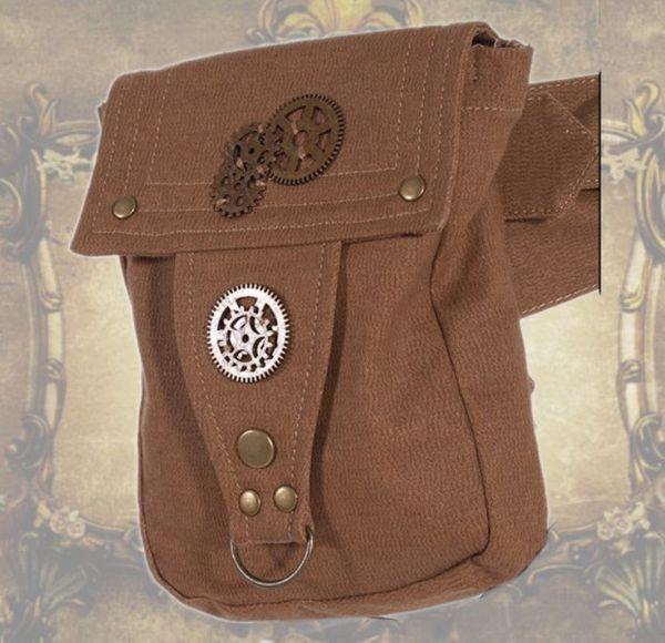 Gürtel Tasche Waistbag braun – Bild 2