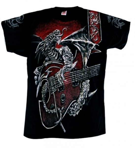 T-Shirt Dragon´s Guitar – Bild 1