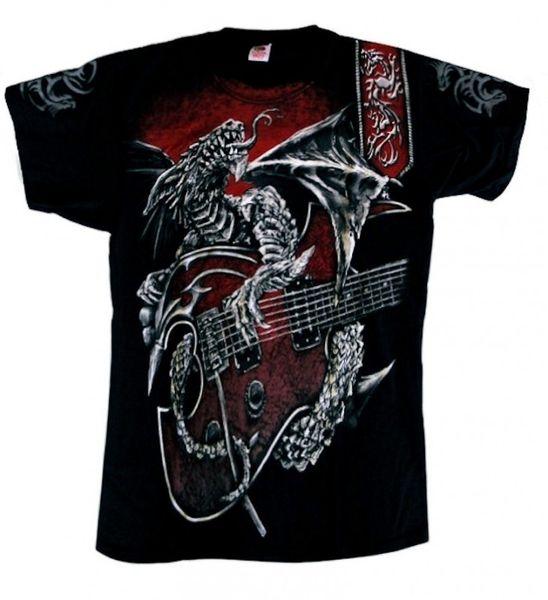 T-Shirt Dragon´s Guitar – Bild 1