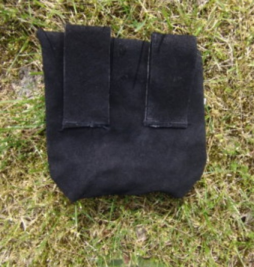 Gürteltasche aus Leder – Bild 4