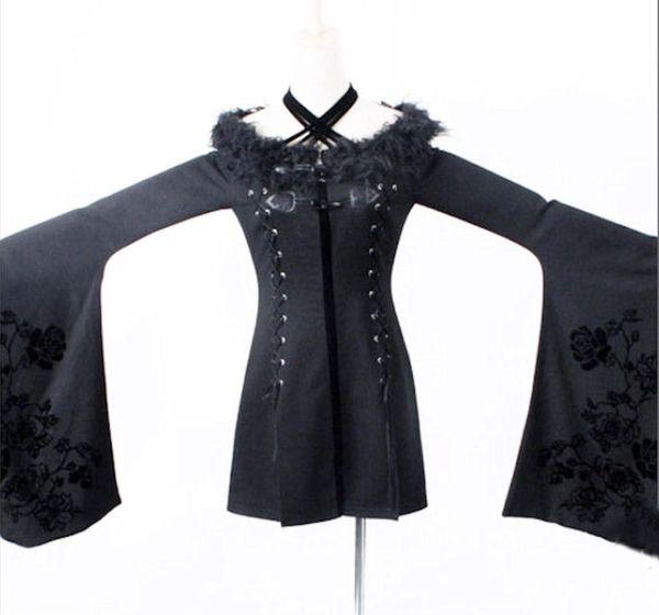 Kimono Jacke Haute Noire – Bild 2