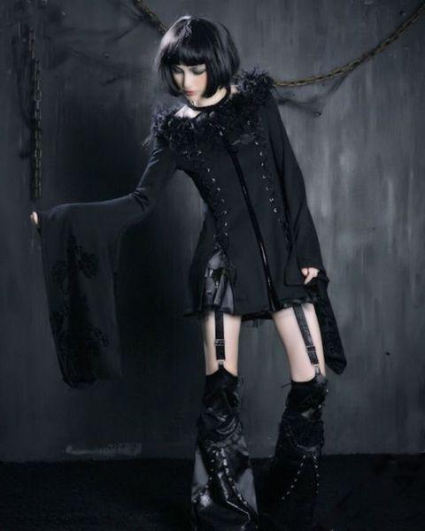 Kimono Jacke Haute Noire – Bild 9