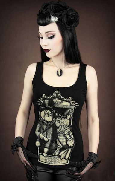 Tank Top Victorian Cat´s – Bild 1