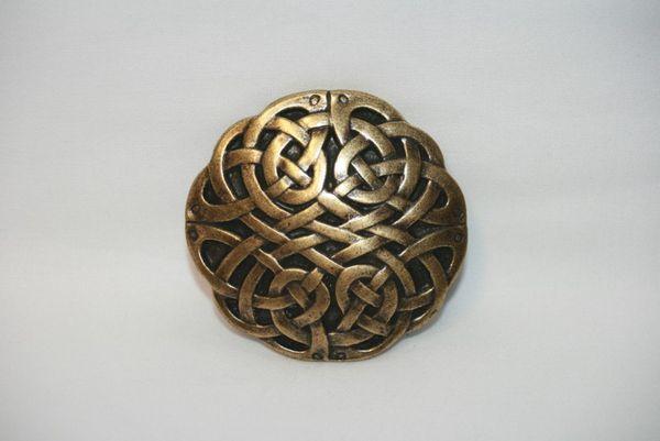 Buckle Keltischer Knoten altmessing – Bild 3