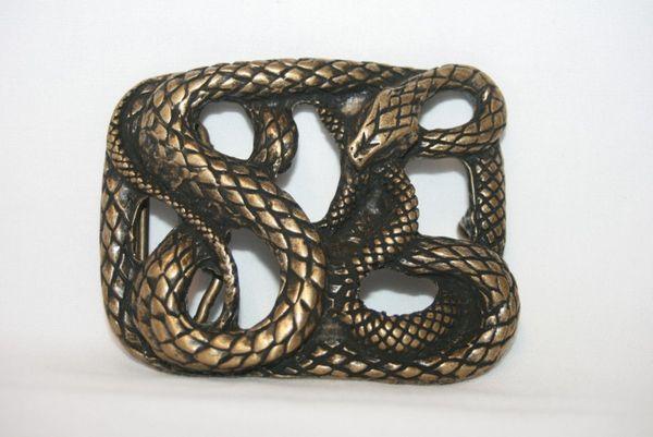 Buckle Snake altmessing – Bild 1