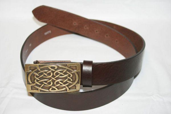 Gürtel Celtic altmessing – Bild 2