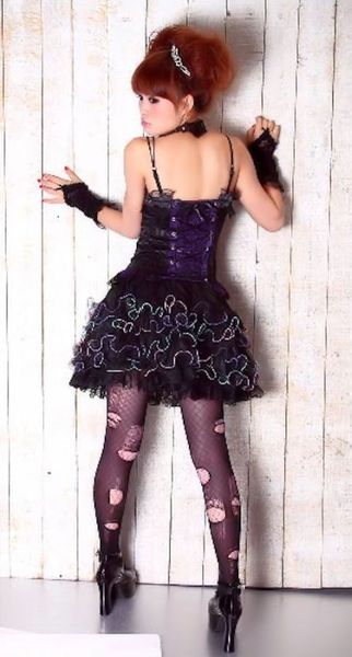 Dark Rainbow Lolita Skirt – Bild 2
