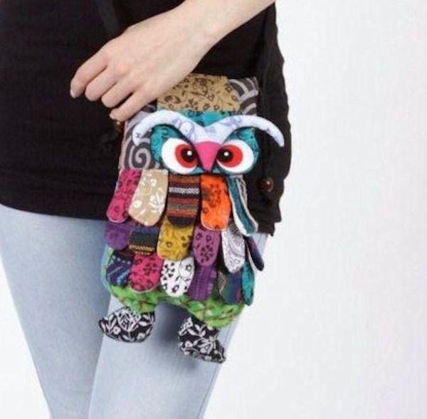 Tasche Ethnic Owl – Bild 1