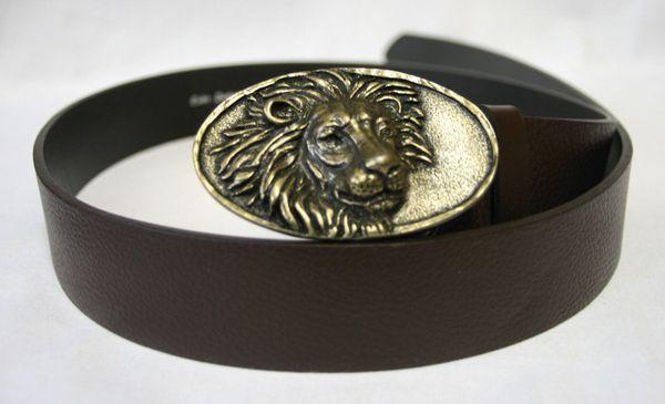 Gürtel Löwe altmessing – Bild 1