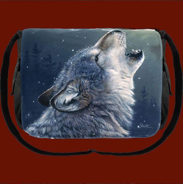 Tasche Messenger Ascending Wolf – Bild 2