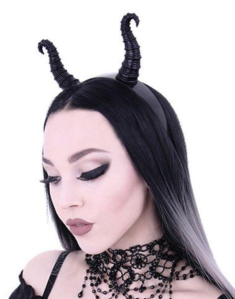 Haarband Kopfschmuck Hörner – Bild 2