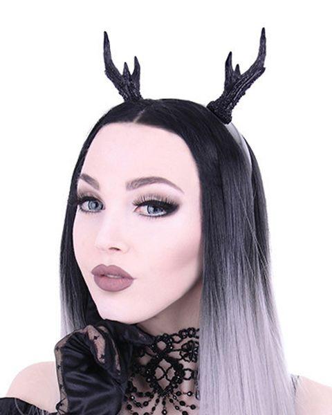 Haarband Kopfschmuck Geweih ohne Rosen – Bild 1