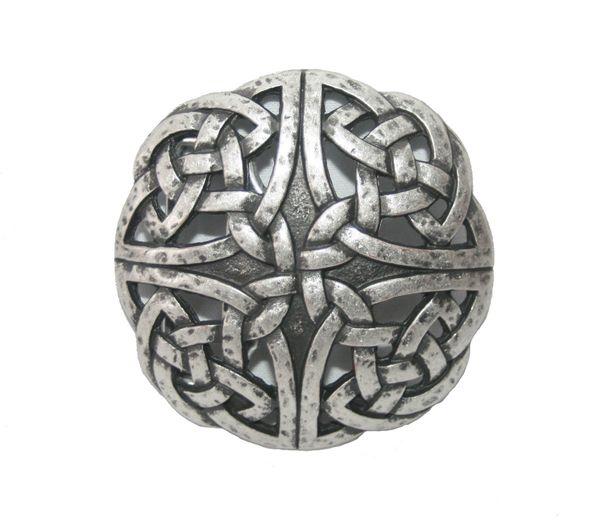 Gürtel keltischer Knoten II altsilber – Bild 2