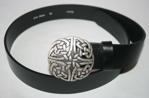 Gürtel keltischer Knoten II altsilber – Bild 3