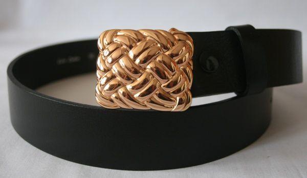 Gürtel Knoten klein roségold – Bild 3