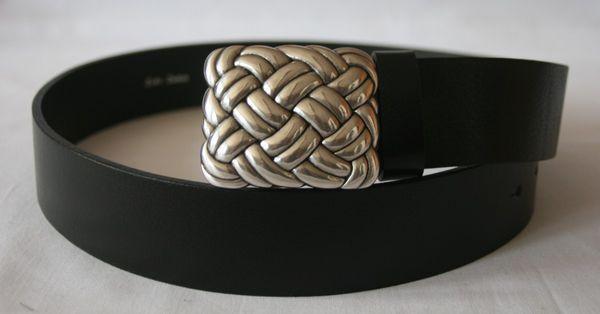 Gürtel Knoten klein altsilber – Bild 1