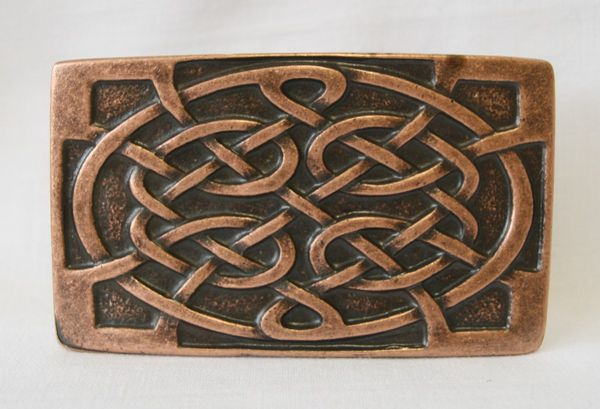 Buckle Celtic altkupfer