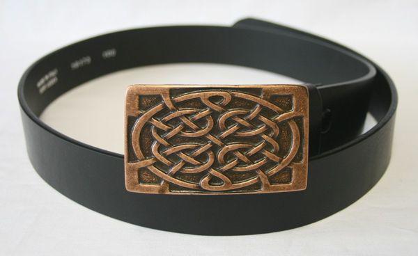 Gürtel Celtic altkupfer – Bild 1