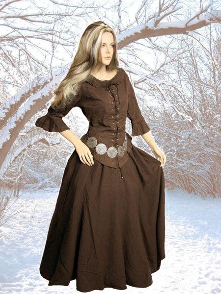 Kleid Kombi Leona Rock und Bluse – Bild 3