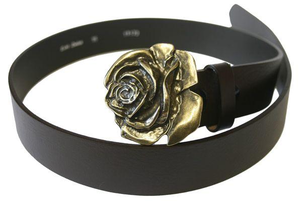 Gürtel Rose altmessing – Bild 1