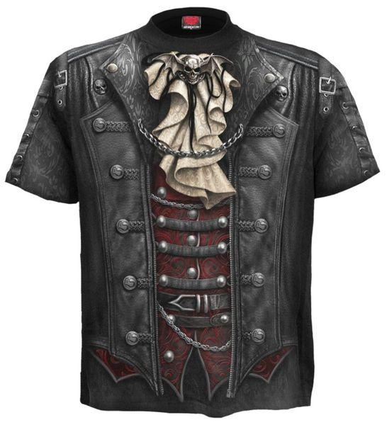 Steampunk T Shirt Goth Wrap – Bild 1