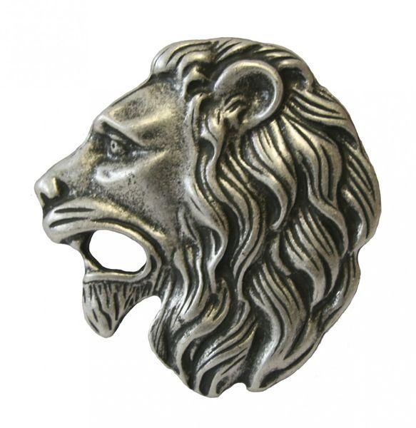 Gürtel Lionhead altsilber – Bild 2
