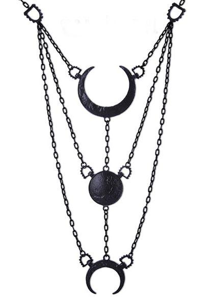 Halskette Phasen des Mondes – Bild 1