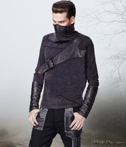 Punk Rave Ninja Men Top – Bild 1