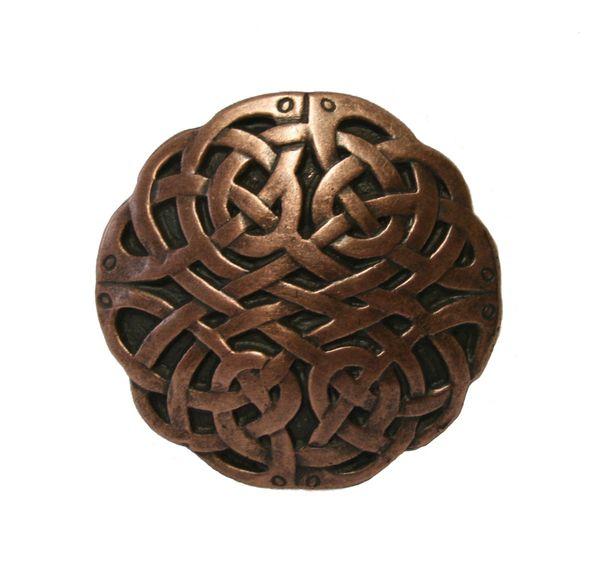 Buckle Keltischer Knoten altkupfer