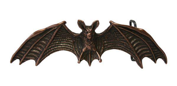 Gürtel Fledermaus altkupfer – Bild 2