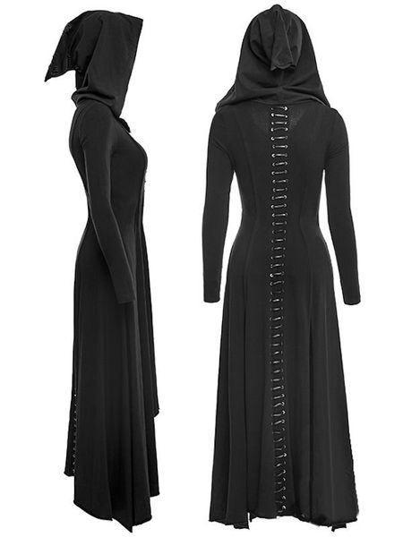 Kleid The Black Raven Dress – Bild 7
