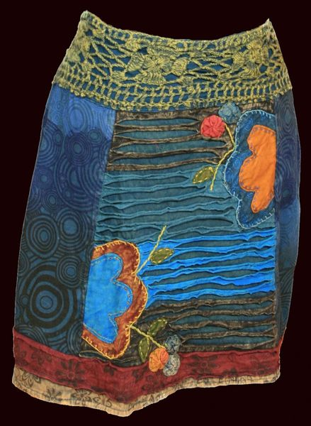 Rock Narayani Razorcut Flower Skirt – Bild 10