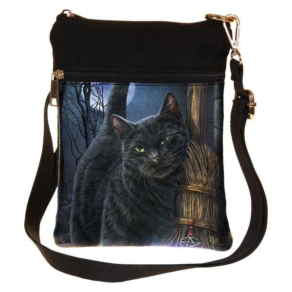 Schultertasche A Brush with Magick