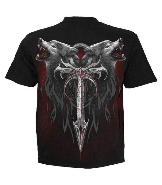 T-Shirt Wolf – Bild 3