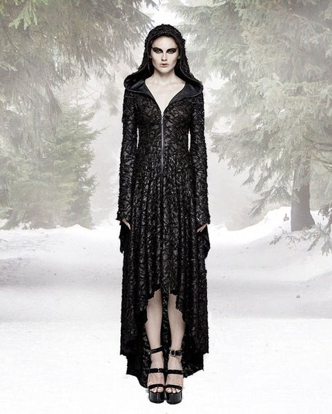 Mantel Kleid Dark Tales – Bild 3