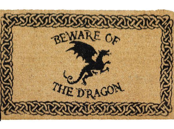 Fußmatte Beware of the Dragon – Bild 2