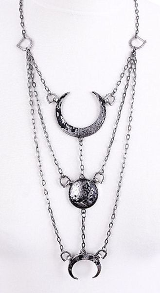 Halskette Moon Phases Necklace – Bild 2
