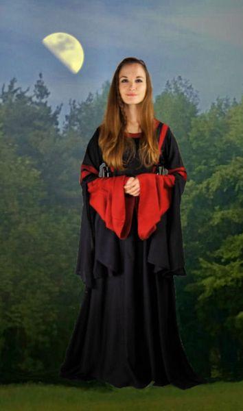 Kapuzen - Kleid Runa – Bild 2
