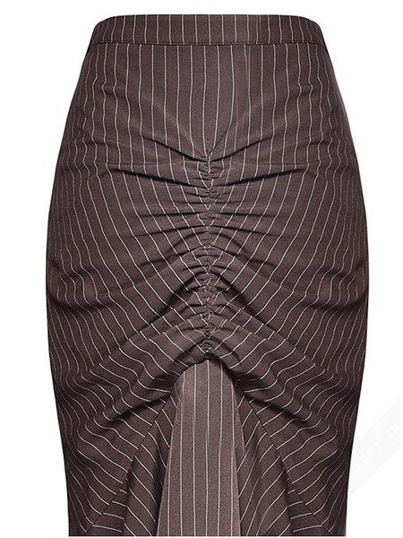 Rock Victorian Pinstripe Skirt Camille – Bild 8