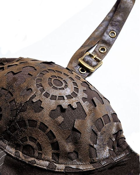 Steampunk Corsagen - Top Abby – Bild 10