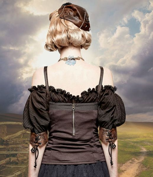 Steampunk Corsagen - Top Abby – Bild 5