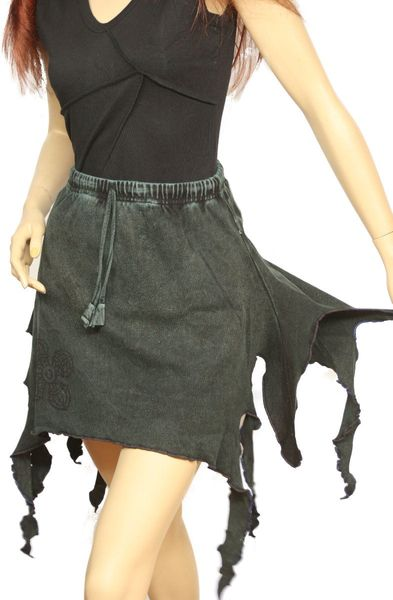 Rock Witchy-Frazzle-Skirt – Bild 4