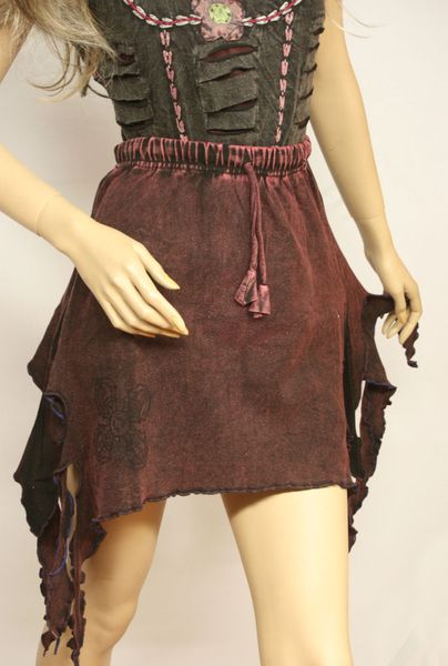 Rock Witchy-Frazzle-Skirt – Bild 18
