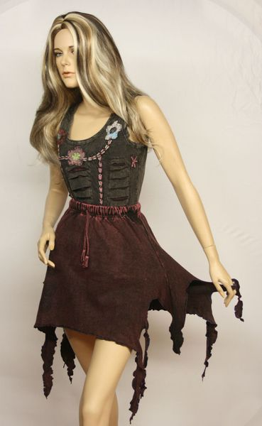 Rock Witchy-Frazzle-Skirt – Bild 20