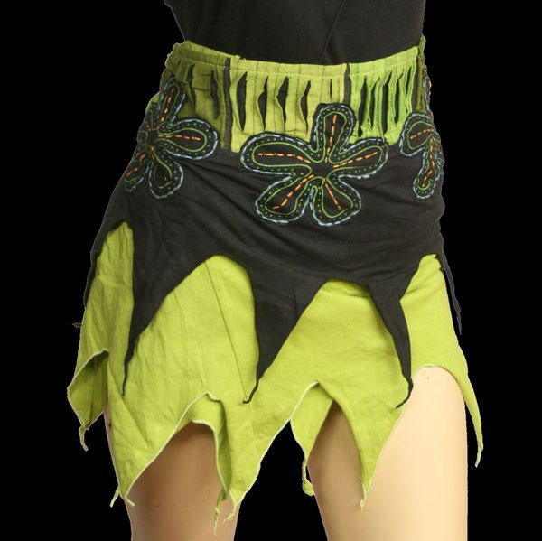 Rock Pixie Lightgreen Wrap-Skirt – Bild 1