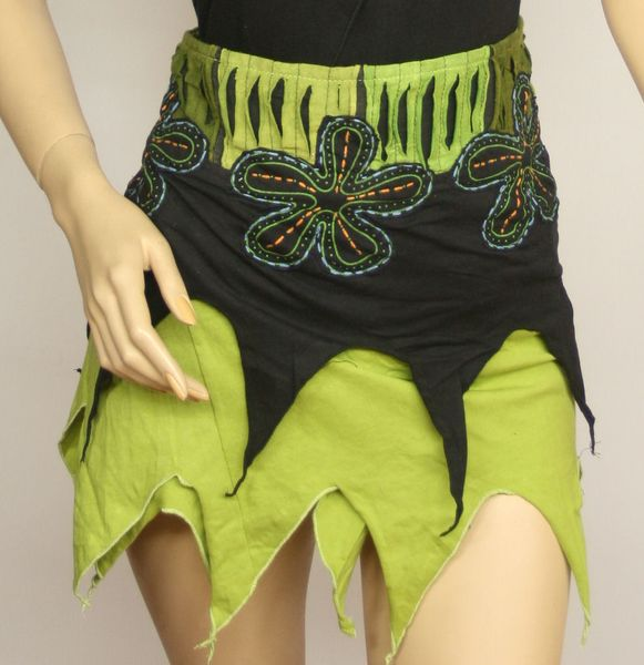 Rock Pixie Lightgreen Wrap-Skirt – Bild 4