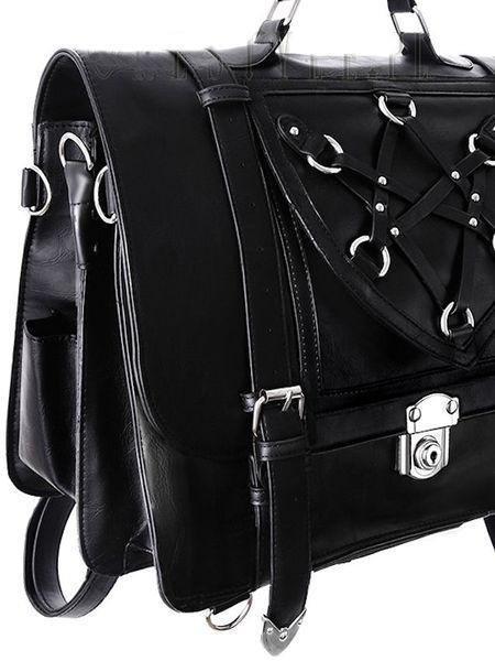 Hexagram Messenger College Bag & Backpack – Bild 7
