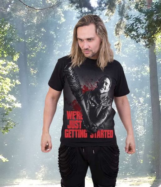 T - Shirt Walking Dead Negan – Bild 1